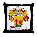 Llinás Coat of Arms Throw Pillow