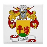 Llinás Coat of Arms Tile Coaster