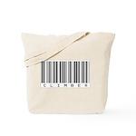 Climber Bar Code Tote Bag