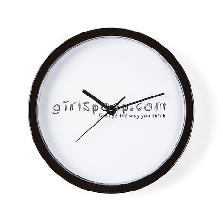 Girlspoop Wall Clock