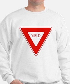 Yield Sign - Street Signs Sweatshirt