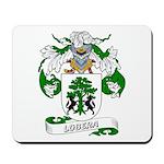 Lobera Coat of Arms Mousepad