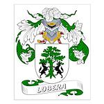 Lobera Coat of Arms Small Poster