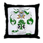 Lobera Coat of Arms Throw Pillow