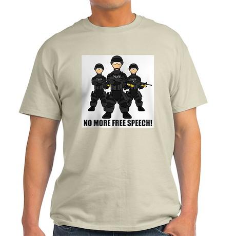 No Free Speech Light T-Shirt