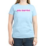 Just Married Women's Light T-Shirt