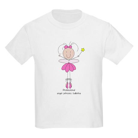 Professional Angel-Princess-B Kids Light T-Shirt
