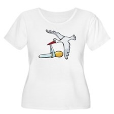 Test Tube Stork T-Shirt