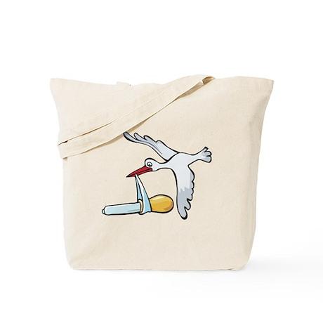 Test Tube Stork Tote Bag
