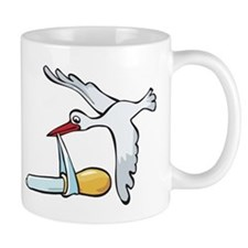 Test Tube Stork Mug