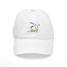 Test Tube Stork Baseball Cap
