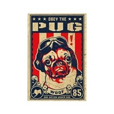 Obey the PUG! USA Flying Ace Magnet