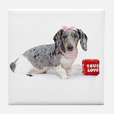 True Love Tile Coaster
