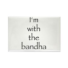 I'm with the bandha Rectangle Magnet