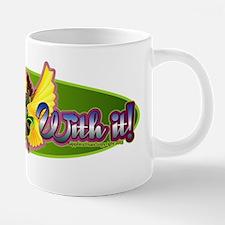 Shimmy With It!  Golden Win 20 oz Ceramic Mega Mug