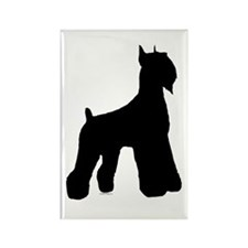 Silhouette #1 Rectangle Magnet (100 pack)