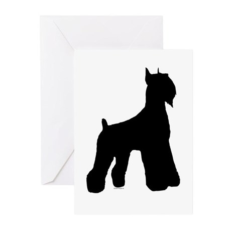 Silhouette #1 Greeting Cards (Pk of 10)