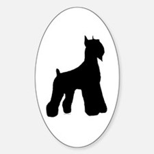 Silhouette #1 Oval Decal