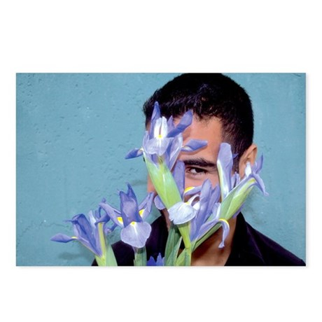 "Wall Flowers - ""Gino"" Postcards (8 Pack)"