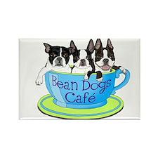 Funny Boston terrier Rectangle Magnet (10 pack)