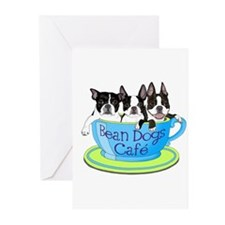 Cool Boston terrier Greeting Cards (Pk of 10)