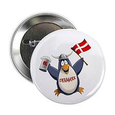 """Denmark Penguin 2.25"""" Button (10 pack)"""