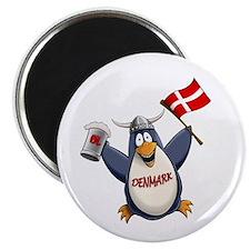 Denmark Penguin Magnet