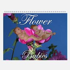 Flower Babies 2013 Wall Calendar