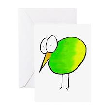 Kooky Kiwi Greeting Card