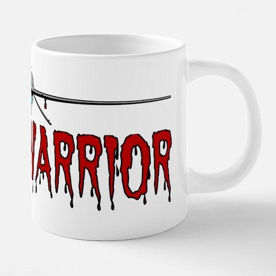 Drone Warrior - Predator 20 oz Ceramic Mega Mug