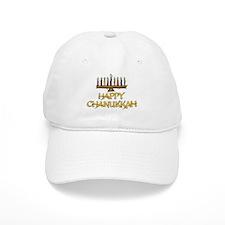 Happy Chanukkah Baseball Cap