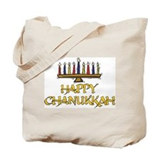 Happy Chanukkah Tote Bag