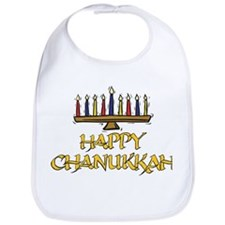 Happy Chanukkah Bib