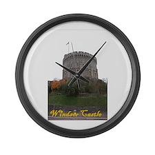 Windsor Castle Large Wall Clock