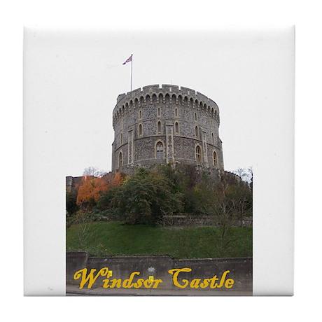 Windsor Castle Tile Coaster