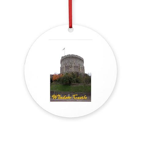 Windsor Castle Ornament (Round)