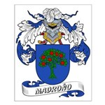 Madrono Coat of Arms Small Poster