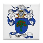 Madrono Coat of Arms Tile Coaster