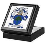 Madrono Coat of Arms Keepsake Box