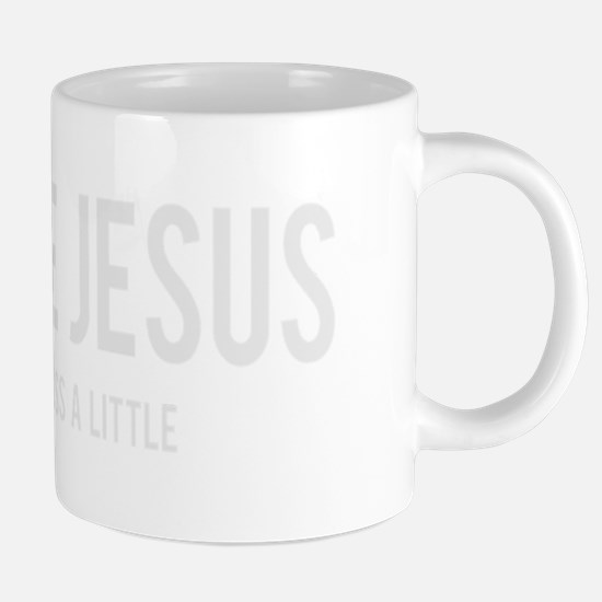 i love Jesus 20 oz Ceramic Mega Mug