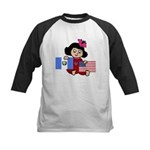 Guatemala Girl Kids Baseball Jersey