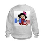 Guatemala Girl Kids Sweatshirt