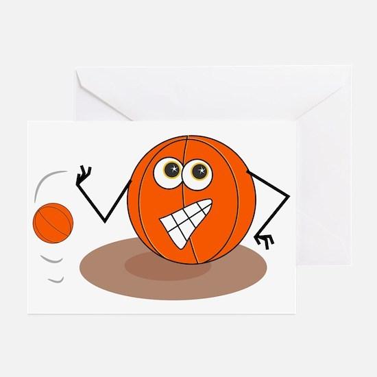 Basketball Jock Greeting Cards (Pk of 10)