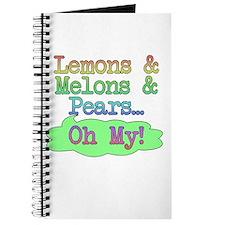 Lemons, Melmons, Pears Journal