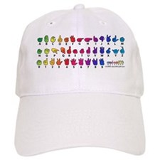 RBW Fingerspelled ABC Baseball Cap