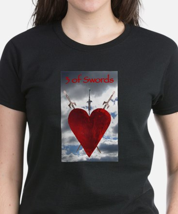 3 of Swords T-Shirt