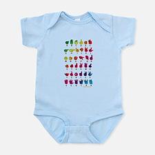 RBW Fingerspelled ABC Infant Bodysuit