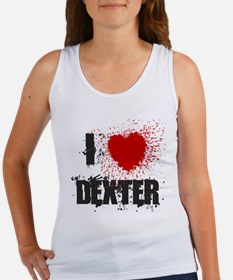 I Splatter Dexter Women's Tank Top