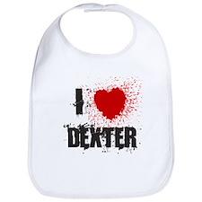 I Splatter Dexter Bib