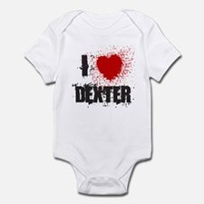I Splatter Dexter Infant Bodysuit